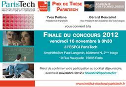 Prix de thèse ParisTech
