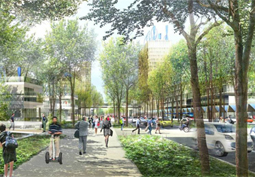 Eco-conception de territoire, applications au quartier de la Cité Descartes