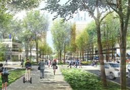 Eco-conception de territoire, applications au quartier de la Cité Descartes