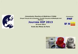 Journée HIP 2013