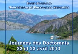 Les  JDD Géosciences et ressources naturelles 2013