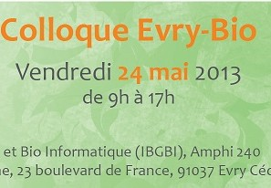 Colloque Evry Bio