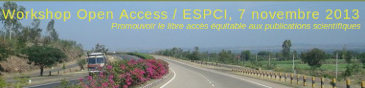 Workshop Open Access, ESPCI