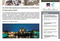 Cooperating for innovation: devices for collective exploration