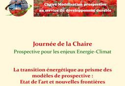 La transition énergétique au prisme des modèles de prospective