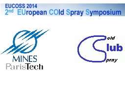 Symposium européen Cold Spray