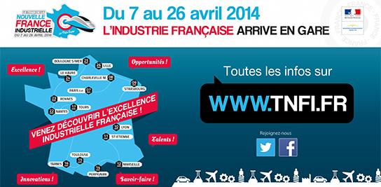 Train de la Nouvelle France Industrielle