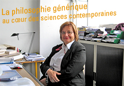 La philosophie g�n�rique au c�ur des sciences contemporaines