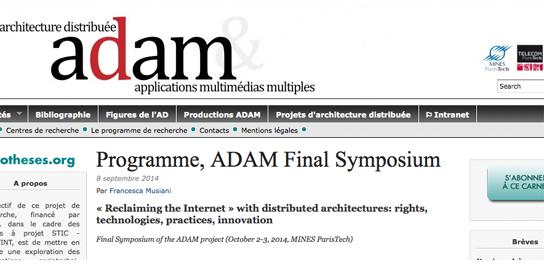 Architectures distribuées et réappropriations de l'Internet