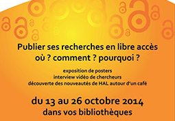 Participation à l'Open Access Week