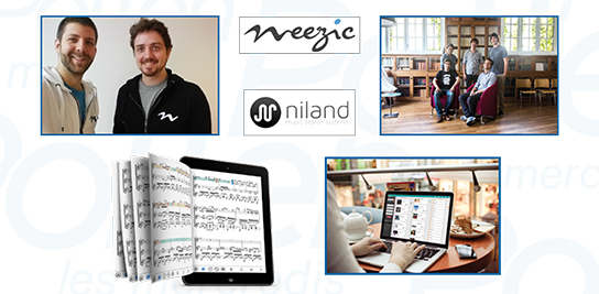 Weezic et Niland, start-ups et musique