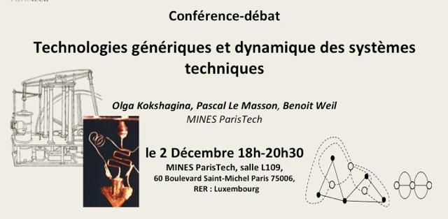 Technologies génériques & dynamique des systèmes techniques