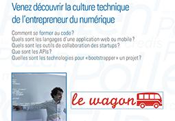 Venez découvrir la culture technique de l'entrepreneur du numérique