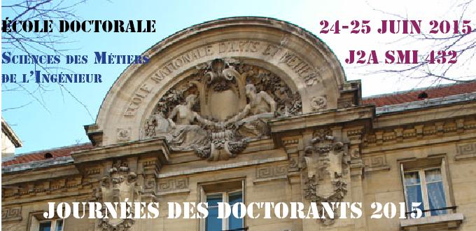 Journées des doctorants SMI 432