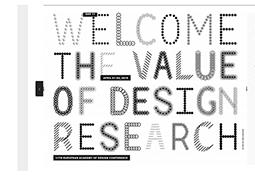 Valeur de la recherche en design