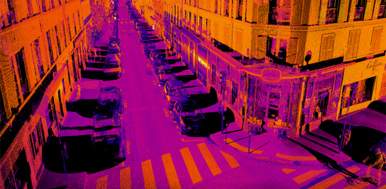 Mobile mapping : l'espace public en 3D