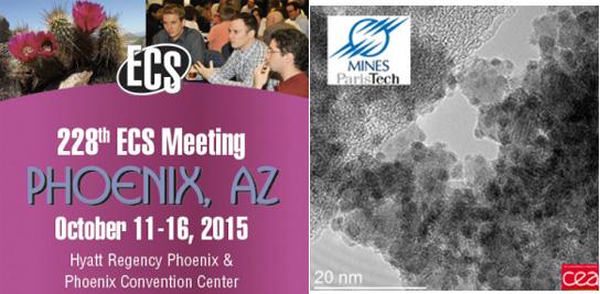 Les aérogels de SnO2 présentés au prochain congrès ECS