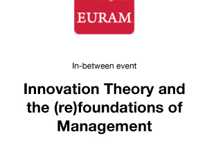 Innovation Theory and the (re)foundations of Management