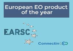 Le produit européen d'observation de la Terre de l'année