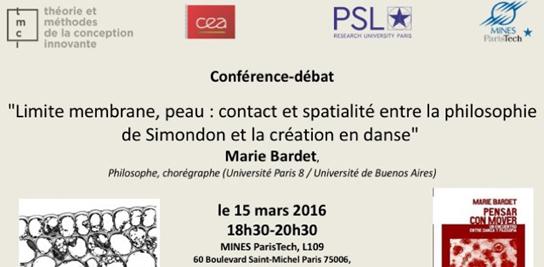 La philosophie de Simondon et la création en danse