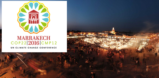 COP22 à Marrakech du 7 au 18 novembre 2016