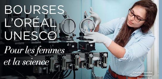 Appel à candidature : bourses L'OREAL-UNESCO