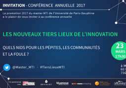 Conférence Master MTI 2017