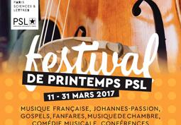 Festival de Printemps PSL
