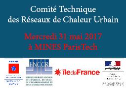 Comité Technique des Réseaux de Chaleur Urbain (CT-RCU)