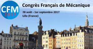 Participation au Congrès Français de Mécanique