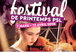 3<sup>e</sup> Festival de Printemps PSL