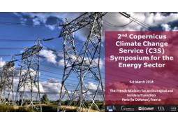 2ème Symposium Copernicus sur les services climatiques pour l'énergie