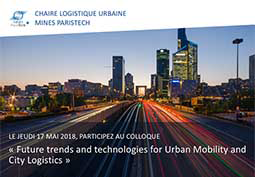 « Future trends and technologies for Urban Mobility and City Logistics »
