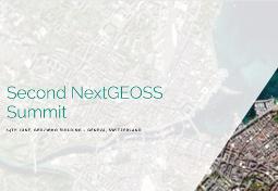 Deuxième sommet NextGEOSS (Second NextGEOSS Summit)
