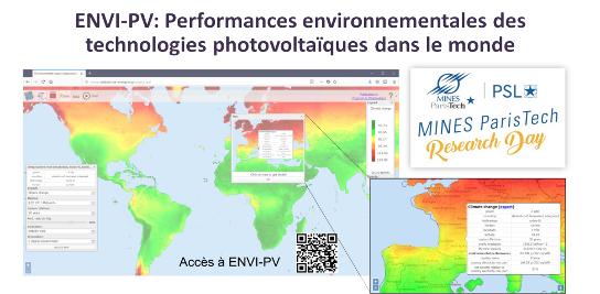 ENVI-PV au MINES ParisTech Research Day