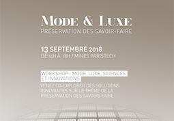 Mode & Luxe : préservation des savoir-faire
