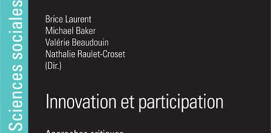 Lancement de l'ouvrage « Innovation et participation. Approches critiques »