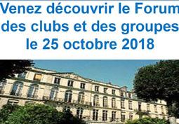 Forum des clubs et des groupes