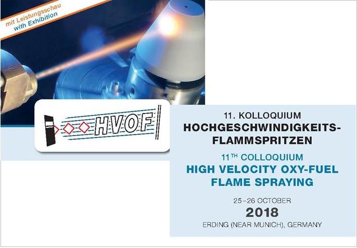 1th HVOF October 2018 · Erding (Germany)
