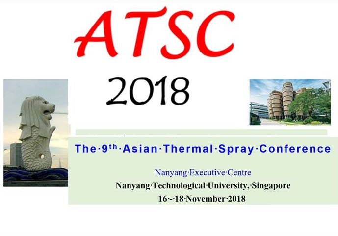 9th ATSC  Asian Thermal Spray Conference 2018 Singapore
