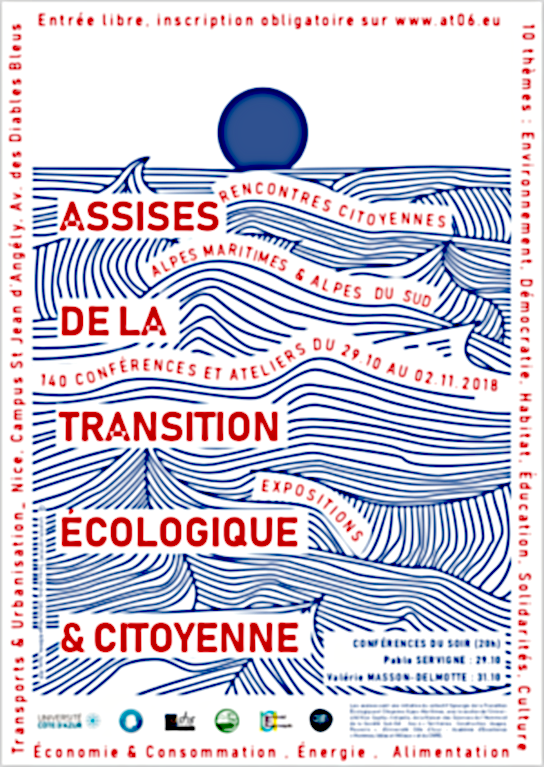 MINES ParisTech participe aux premières assises de la Transition Ecologique et Citoyenne dans les Alpes Maritimes