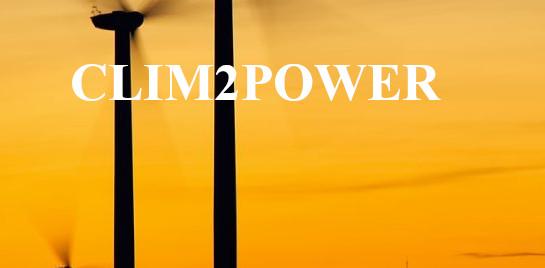 CLIM2POWER : Les services web climat pour l'énergie
