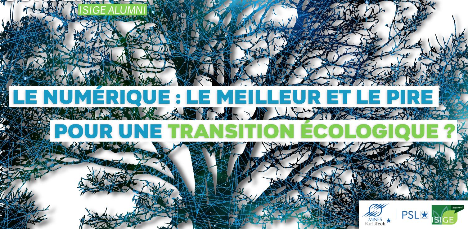 Le numérique et la transition écologique