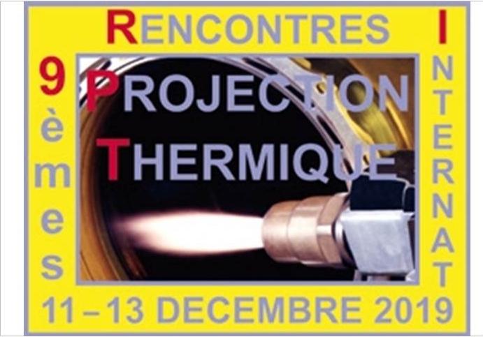 9 RIPT 2019 LES RENCONTRES INTERNATIONALES DE LA PROJECTION THERMIQUE