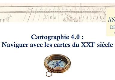 Cartographie 4.0 : Naviguer avec les cartes du XXI<sup>e</sup> siècle