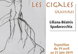 Les Cigales - Gravures de L-B Spadavecchia