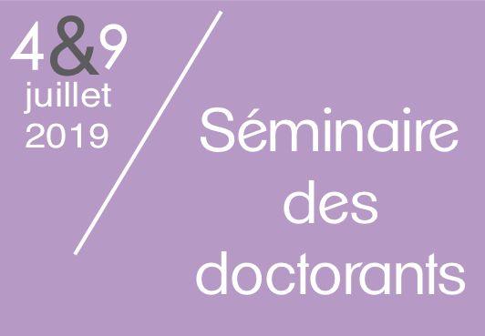 Séminaire des doctorants du centre PERSEE