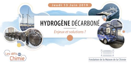 Colloque Hydrogène décarboné