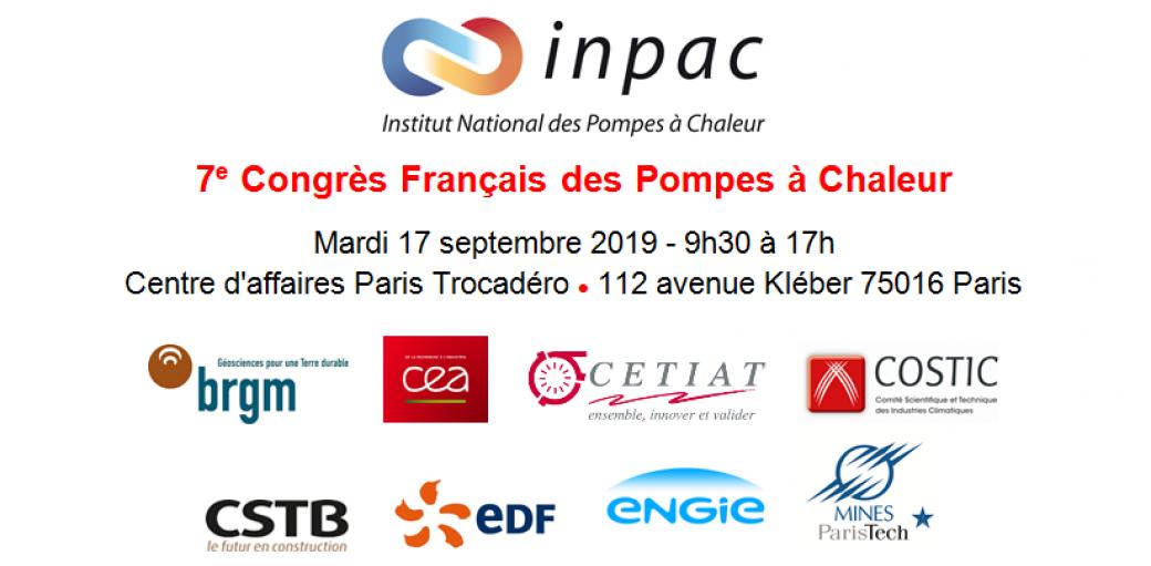 7<sup>e</sup> Congrès français des pompes à chaleur