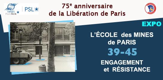 L'École des Mines de Paris - 39-45 Engagement et Résistance